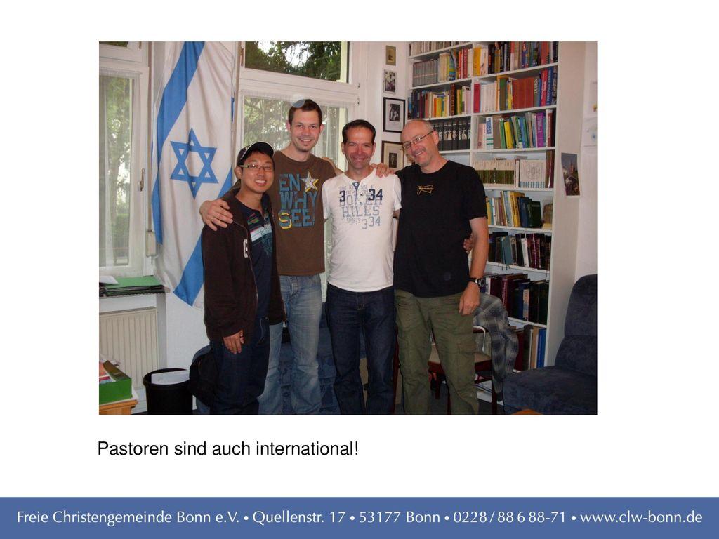 Pastoren sind auch international!