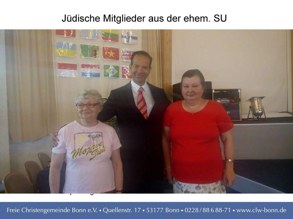 Jüdische Mitglieder aus der ehem. SU
