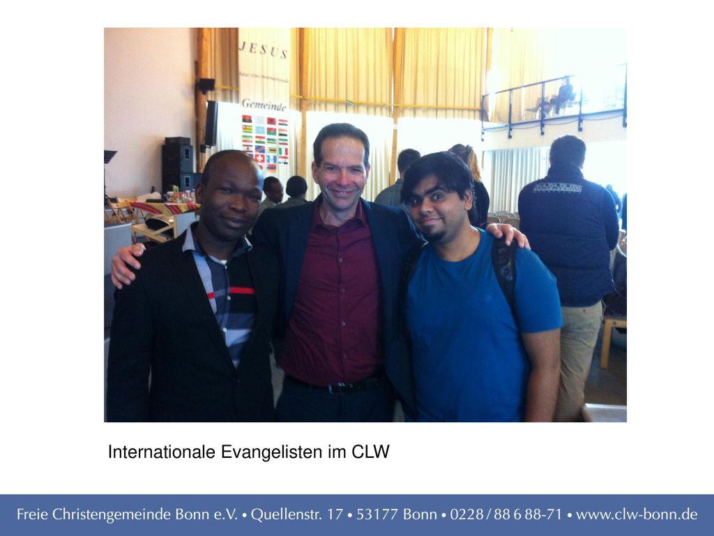 Internationale Evangelisten im CLW