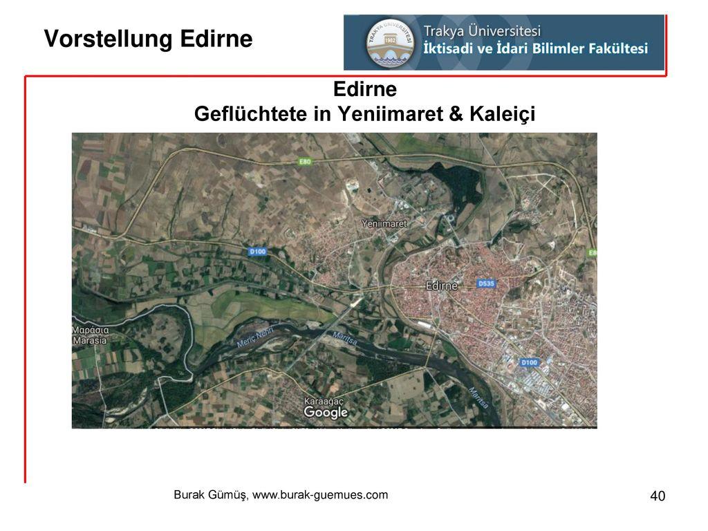Geflüchtete in Yeniimaret & Kaleiçi