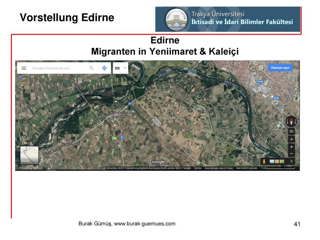 Migranten in Yeniimaret & Kaleiçi