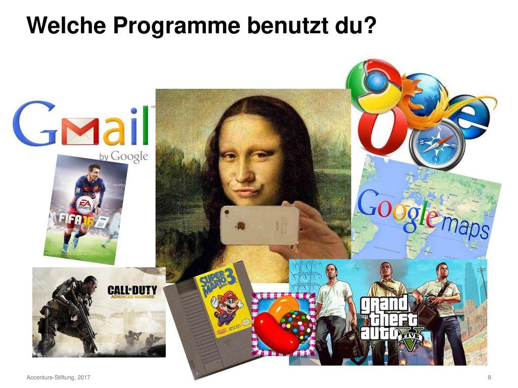 Welche Programme benutzt du