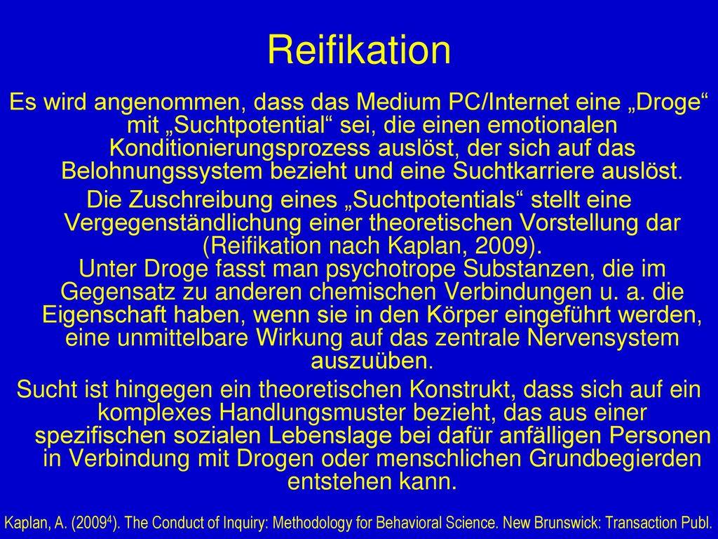 Reifikation