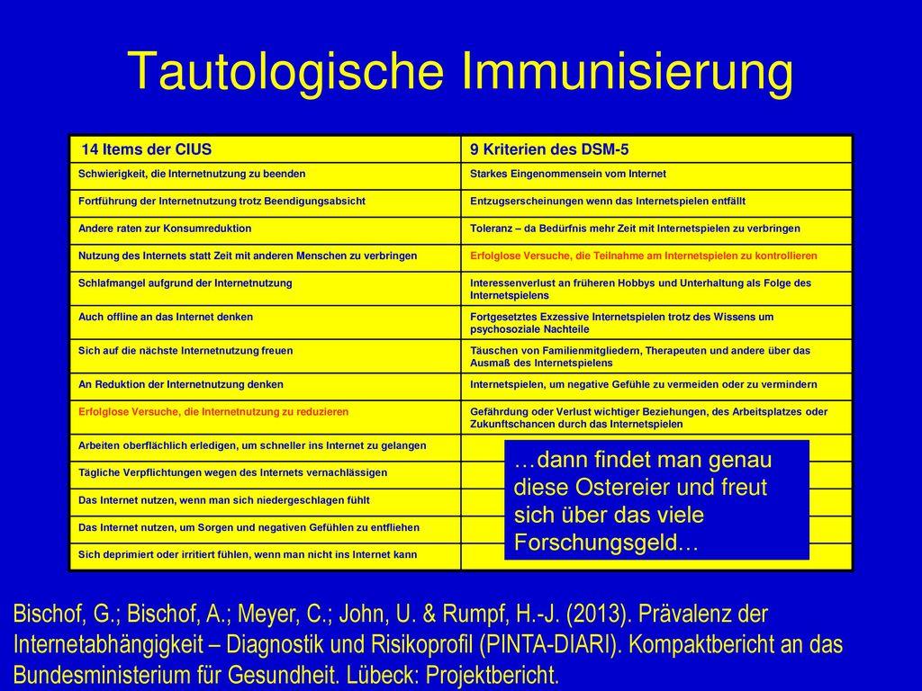 Tautologische Immunisierung