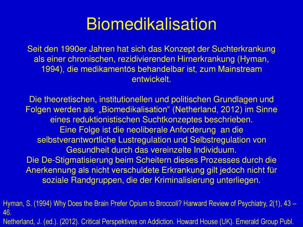 Biomedikalisation