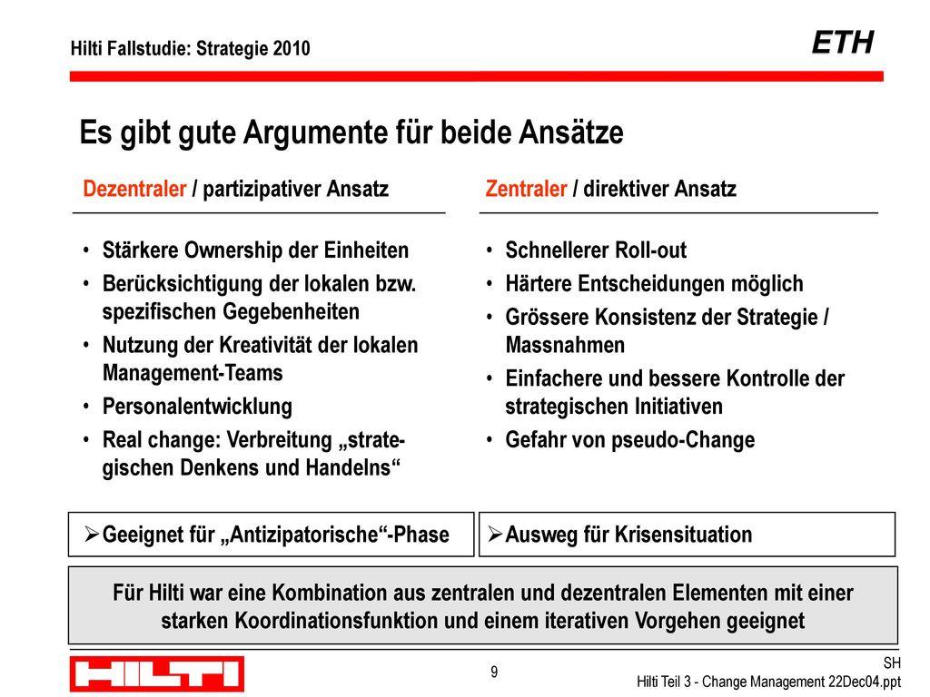 """Implementierung über einen dezentralen, partizipativen Ansatz - """"Think global, act local"""