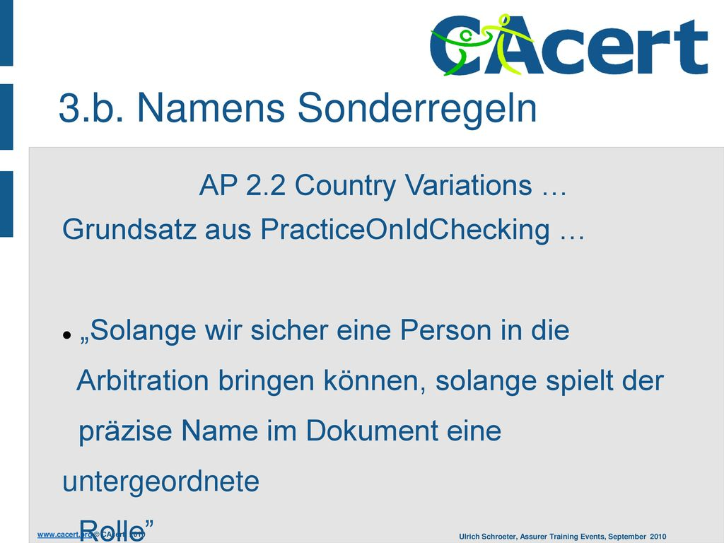 AP 2.2 Country Variations …