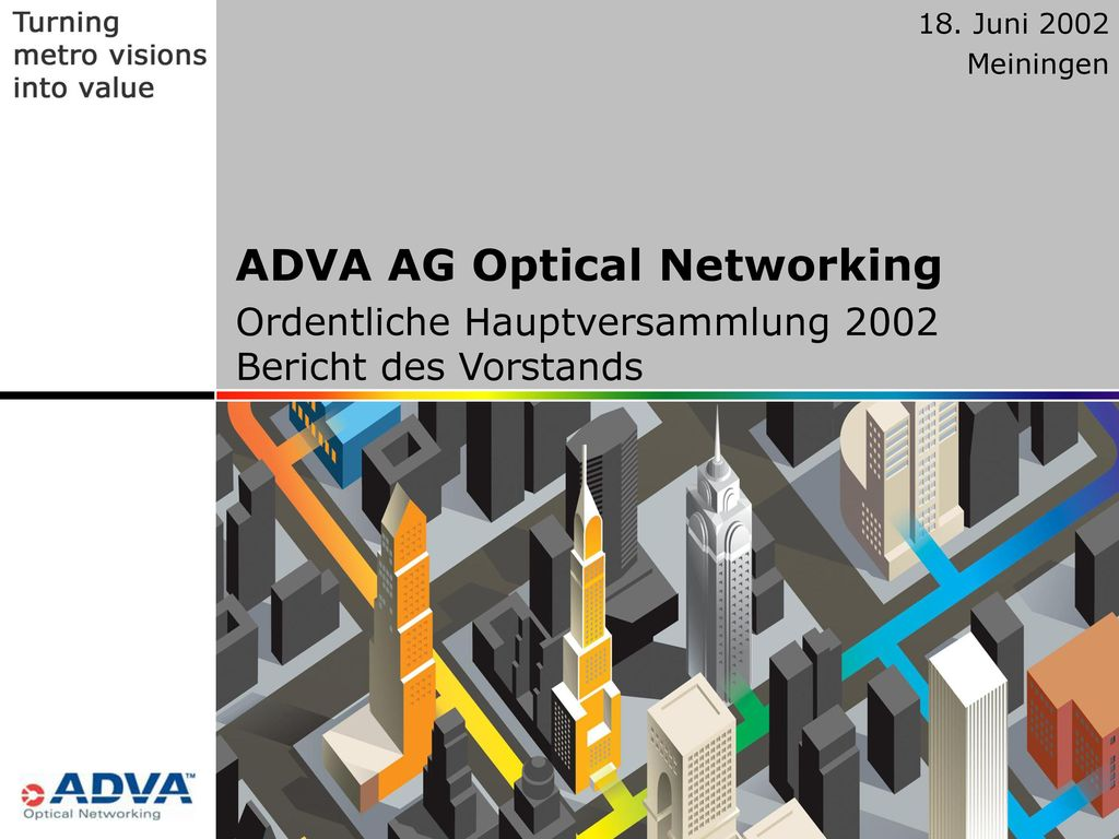 ADVA AG Optical Networking