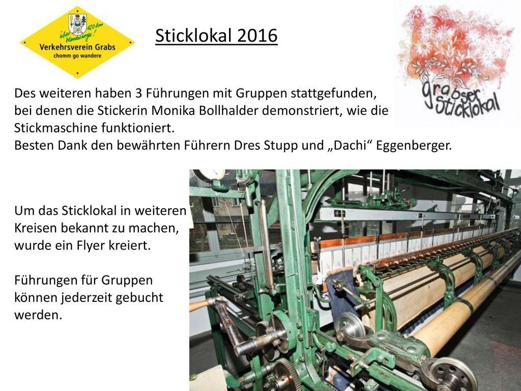 Sticklokal 2016
