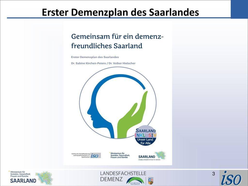 Erster Demenzplan des Saarlandes