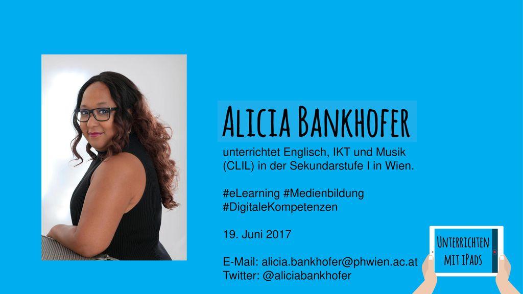 unterrichtet Englisch, IKT und Musik (CLIL) in der Sekundarstufe I in Wien.