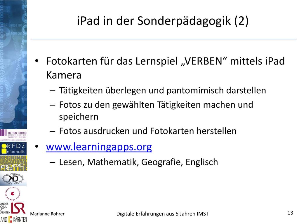 iPad in der Sonderpädagogik (2)