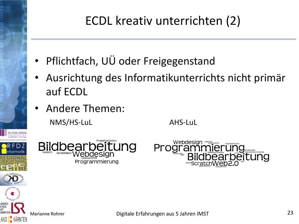 ECDL kreativ unterrichten (2)