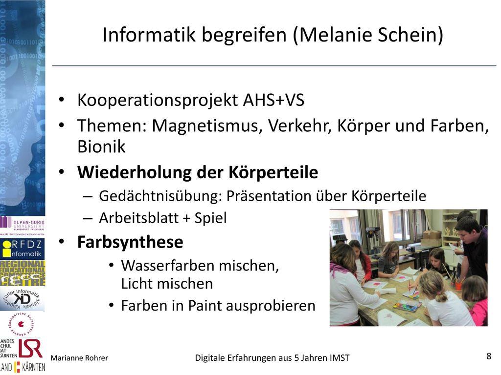Informatik begreifen (Melanie Schein)