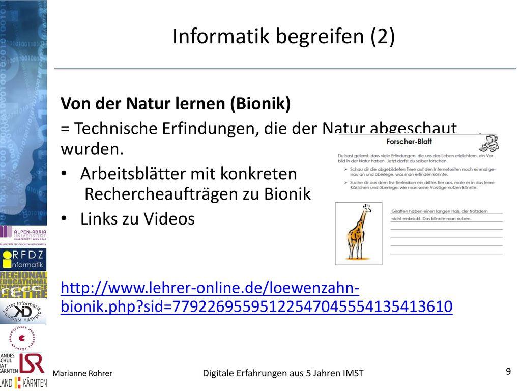 Informatik begreifen (2)