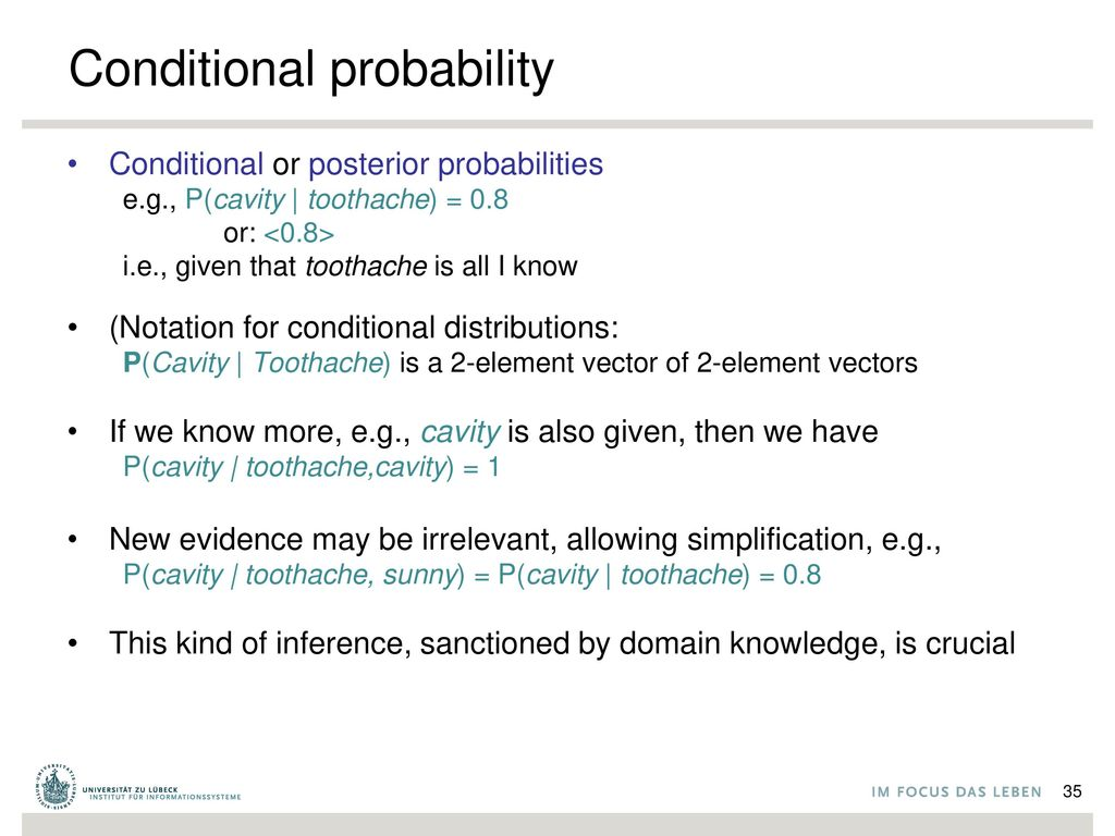 Full joint probability distribution