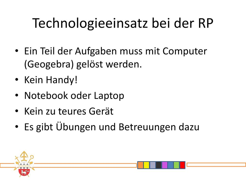 Technologieeinsatz bei der RP