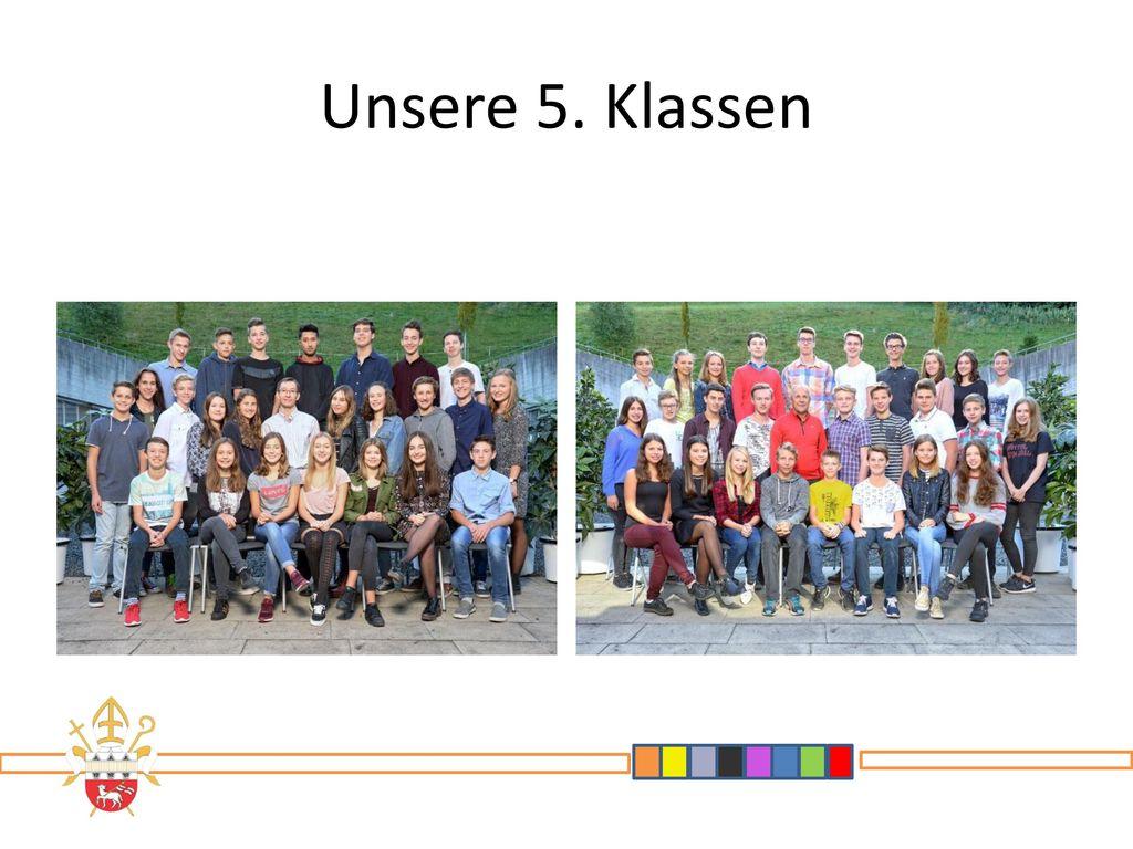 Unsere 5. Klassen