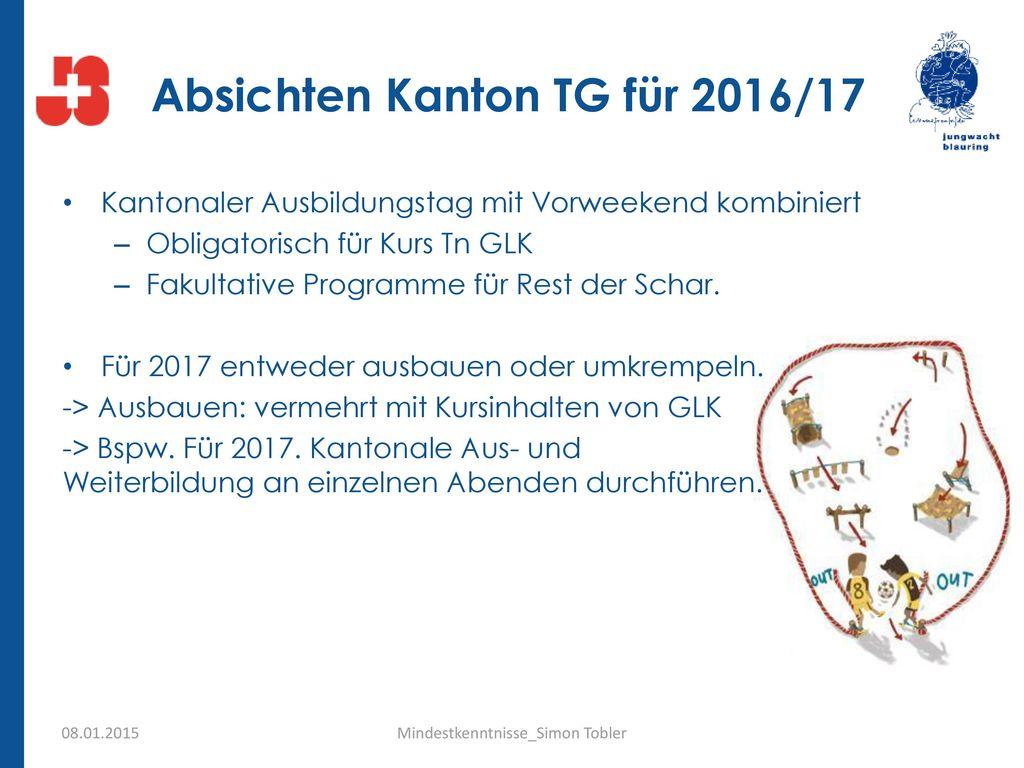 Absichten Kanton TG für 2016/17