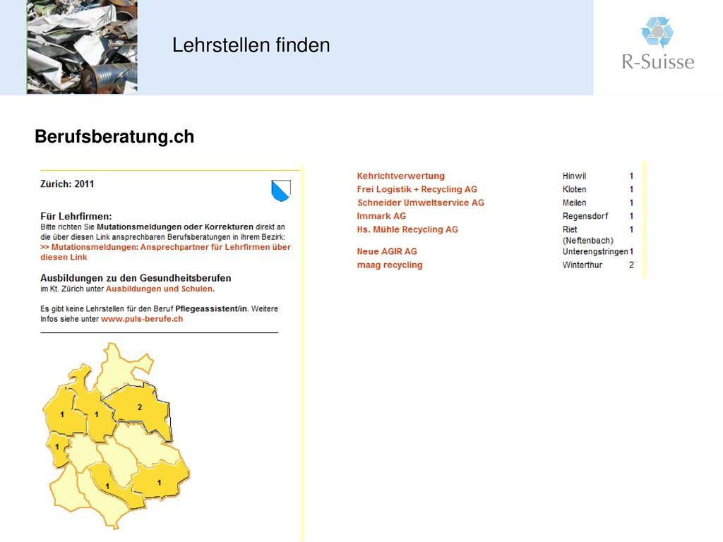 Informationsveranstaltung Lehrmeister 15.2.2011
