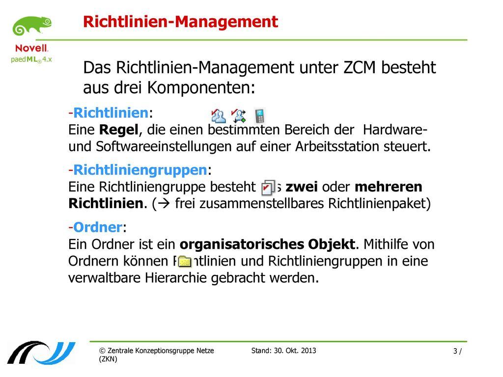 Richtlinien-Management
