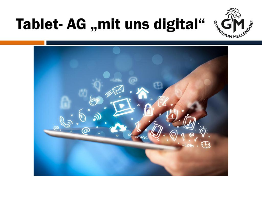 "Tablet- AG ""mit uns digital"