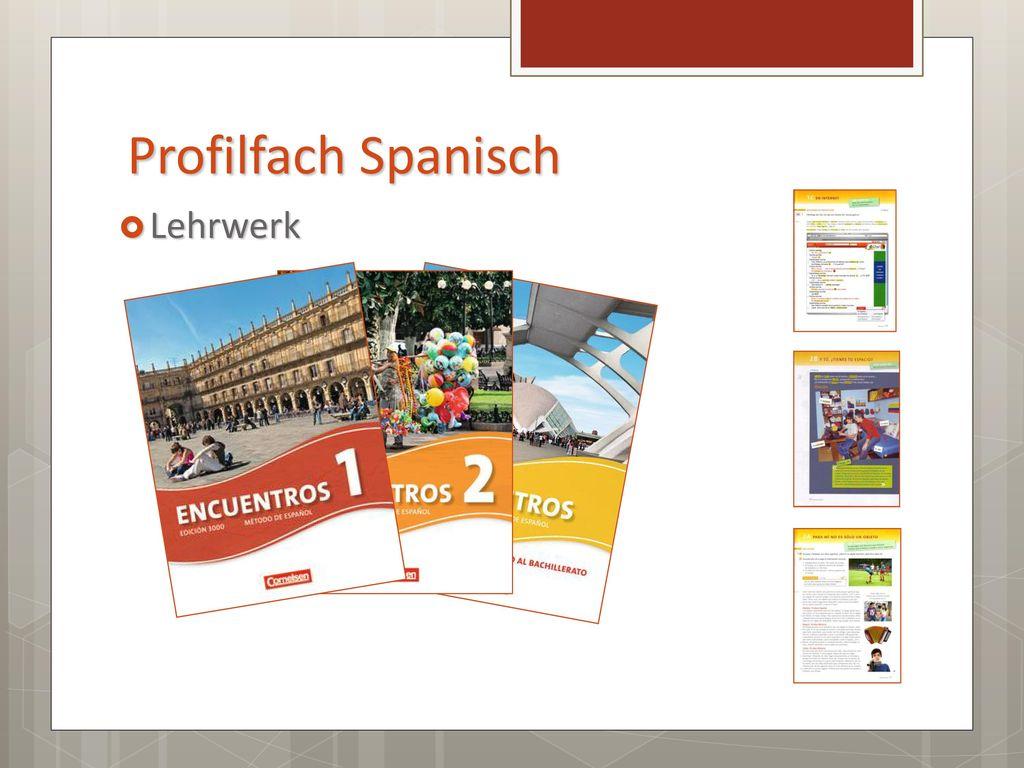 Profilfach Spanisch Lehrwerk