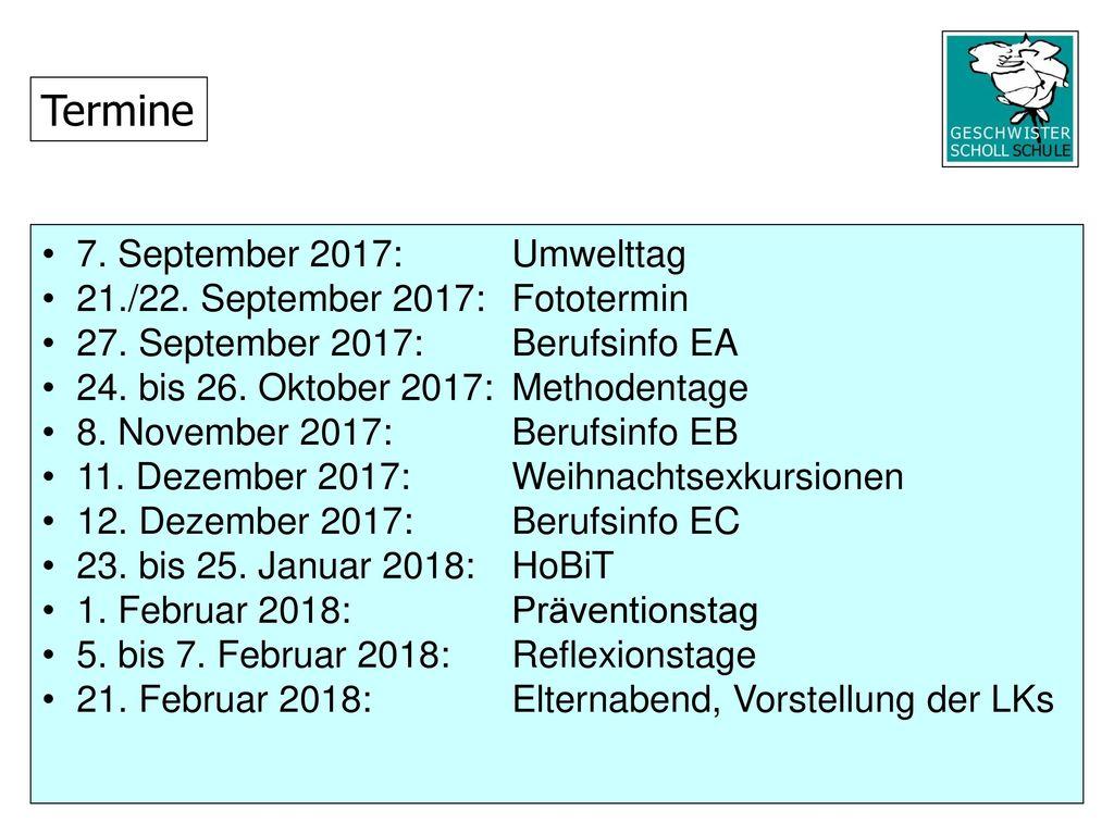 Termine 7. September 2017: Umwelttag