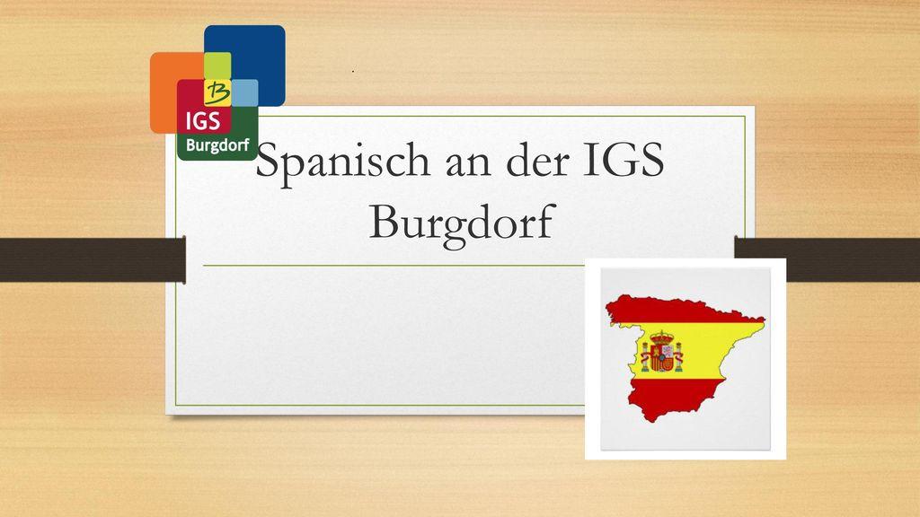 Spanisch an der IGS Burgdorf