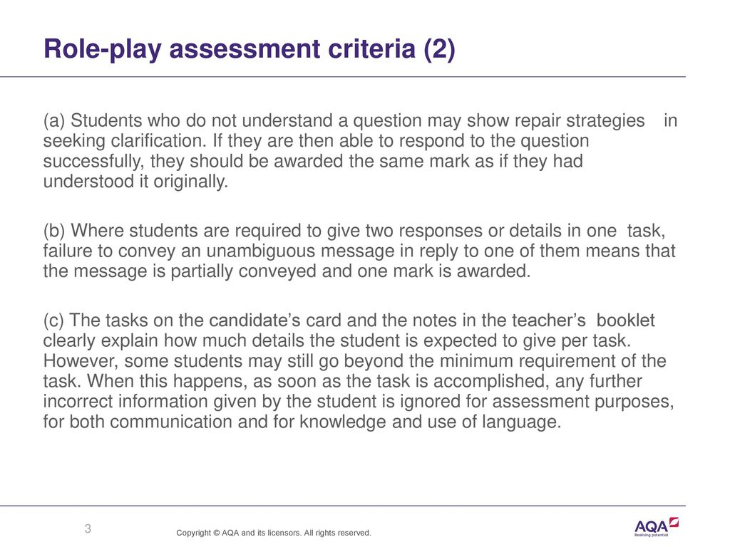 Role-play assessment criteria (2)