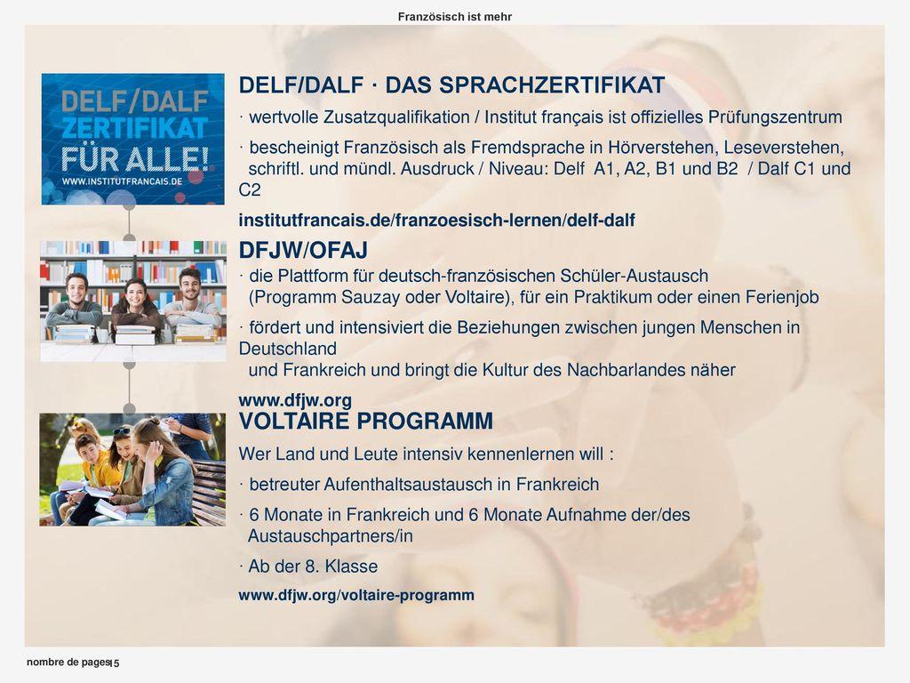 DELF/DALF · DAS SPRACHZERTIFIKAT