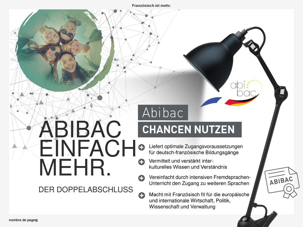 ABIBAC EINFACH MEHR. DER DOPPELABSCHLUSS