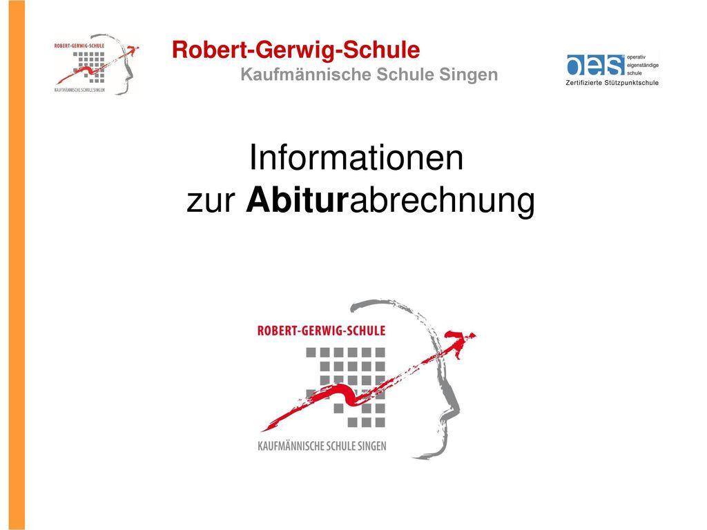 Informationen zur Abiturabrechnung 1