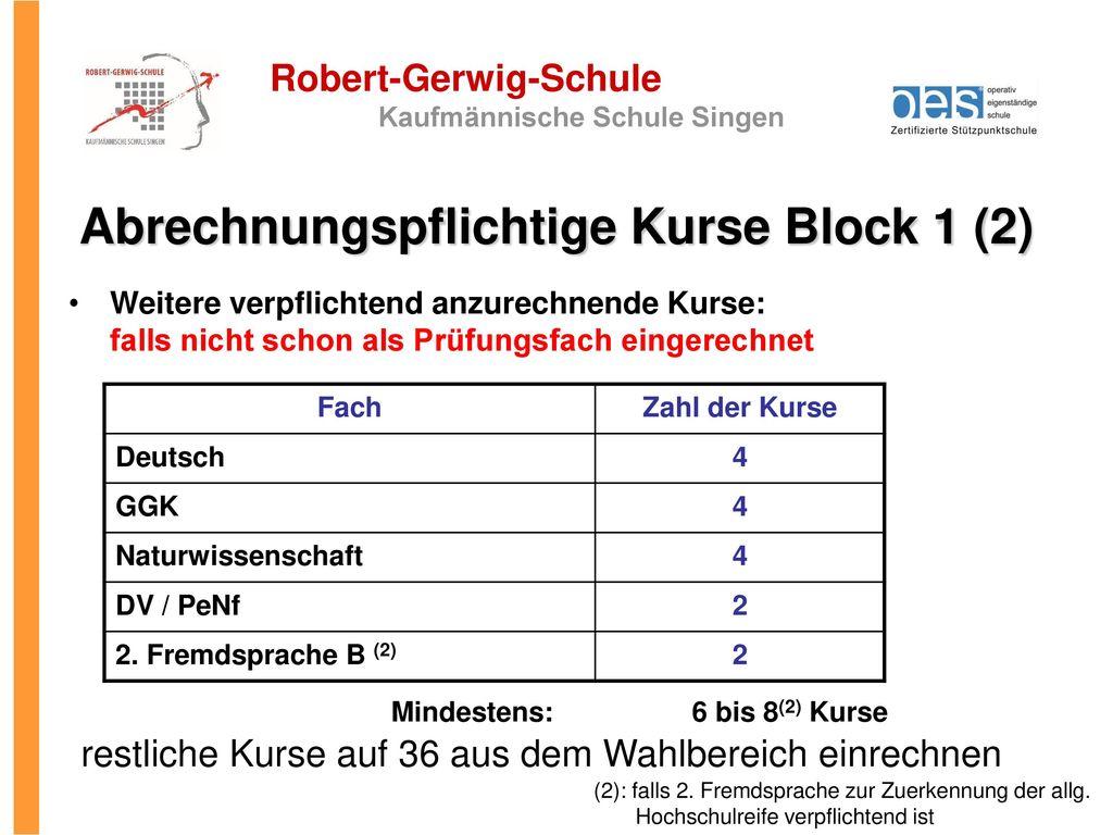 Abrechnungspflichtige Kurse Block 1 (2)