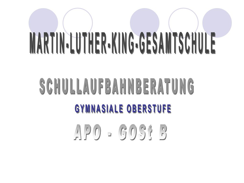 MARTIN-LUTHER-KING-GESAMTSCHULE