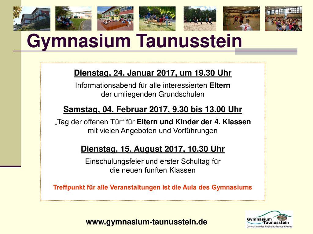 Gymnasium Taunusstein