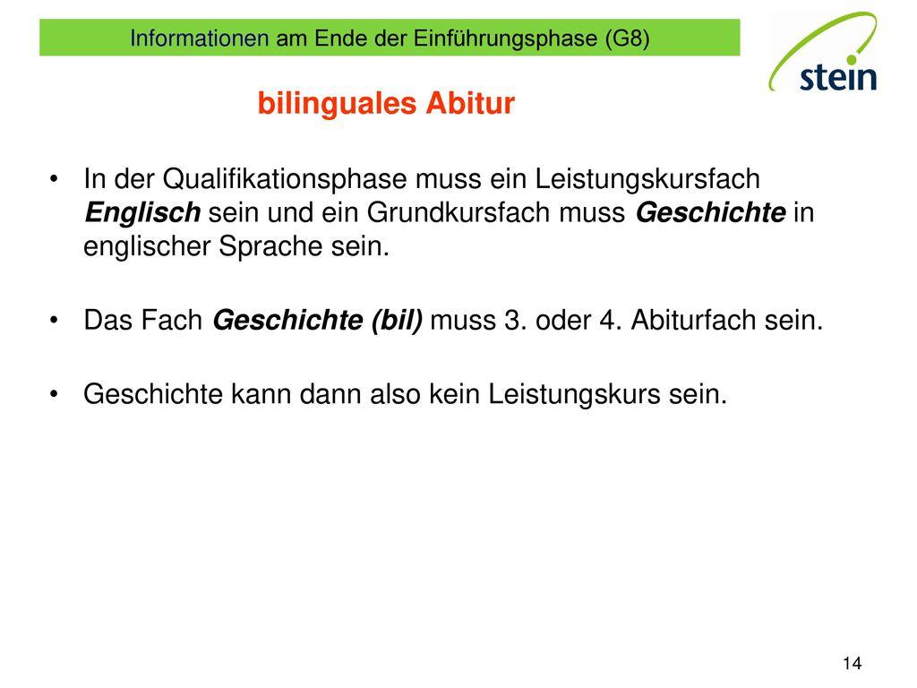 bilinguales Abitur