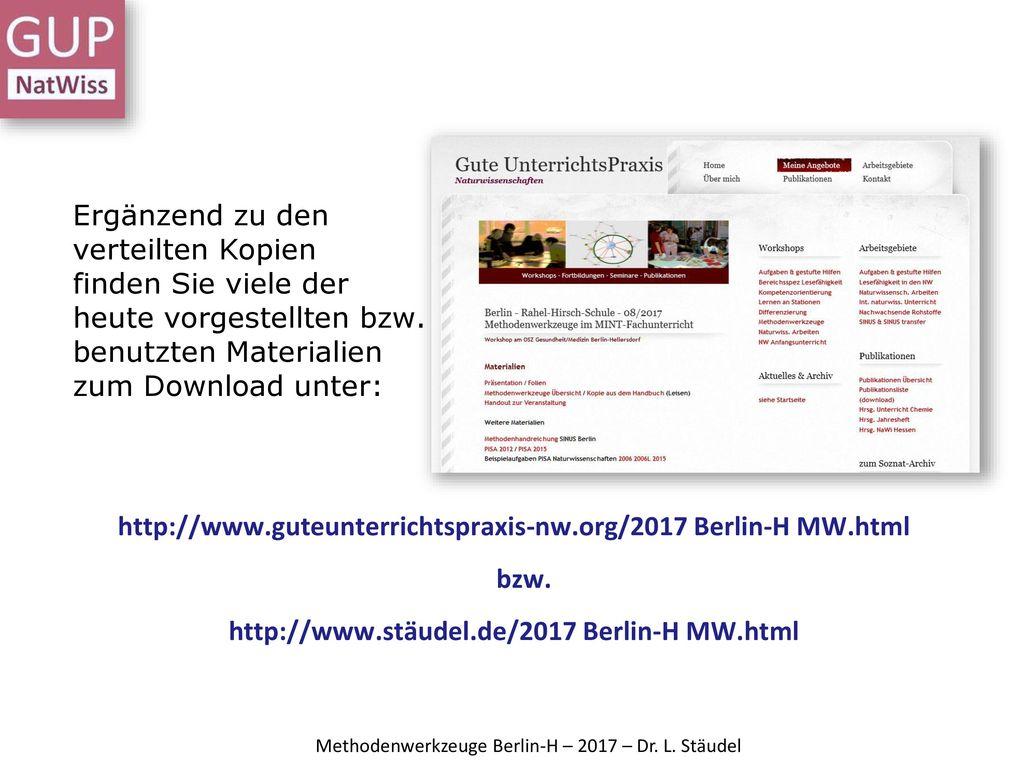http://www.guteunterrichtspraxis-nw.org/2017 Berlin-H MW.html