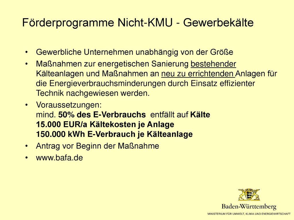 Klimaschutz Plus BW (Programm des UM)