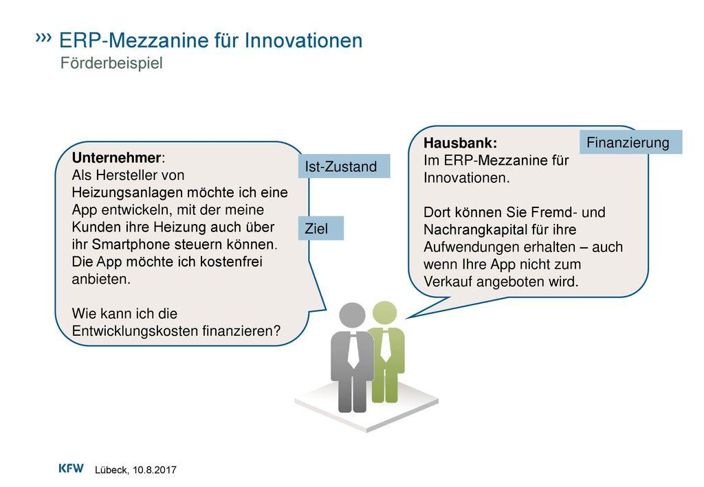 ERP-Mezzanine für Innovationen
