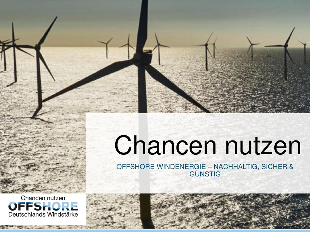 Offshore Windenergie – Nachhaltig, sicher & günstig