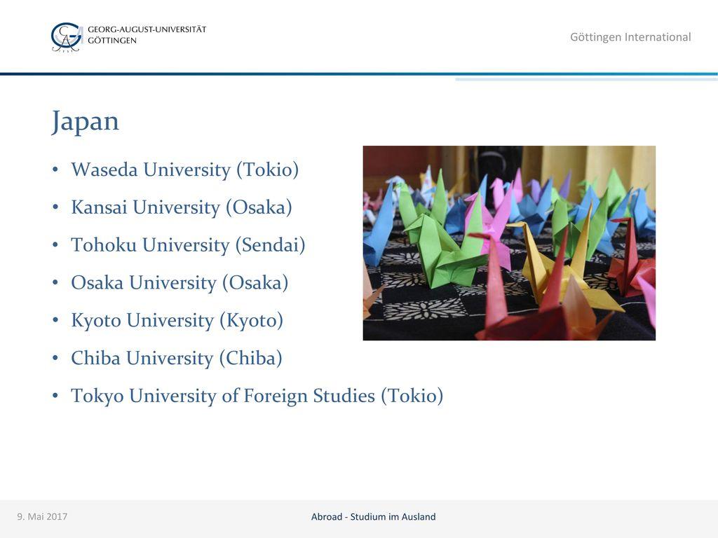 Abroad - Studium im Ausland