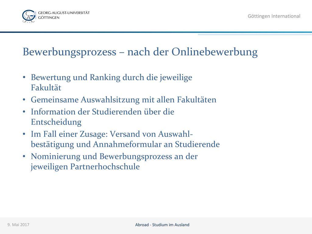 Bewerbungsprozess – nach der Onlinebewerbung