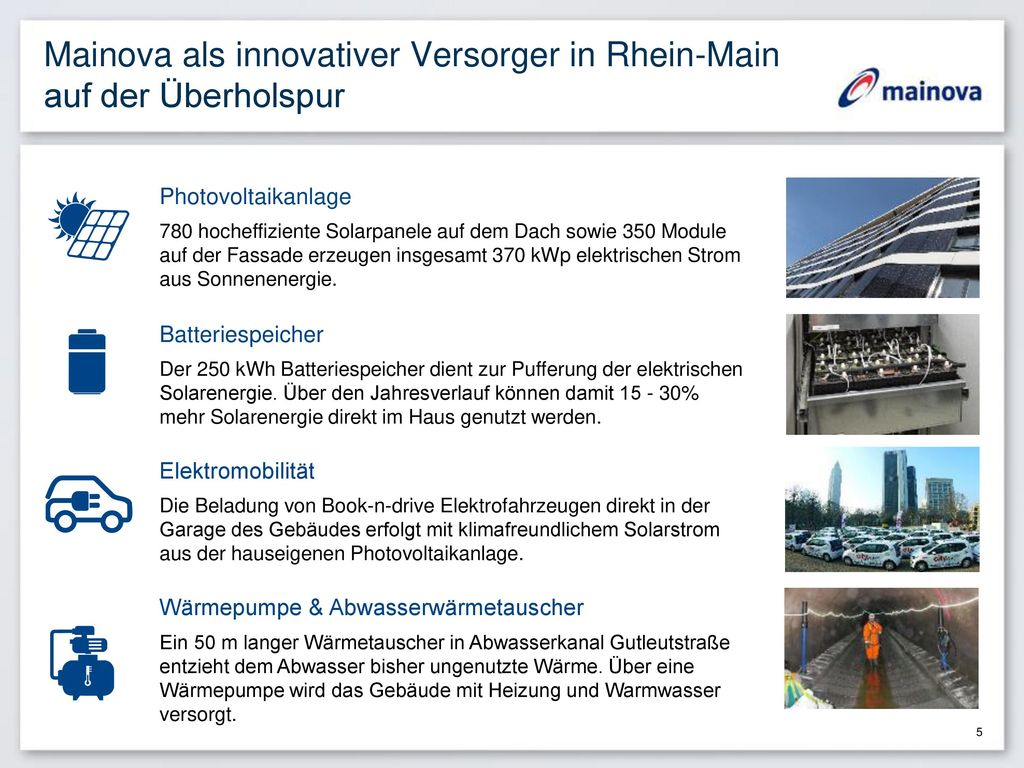 Mainova als innovativer Versorger in Rhein-Main auf der Überholspur