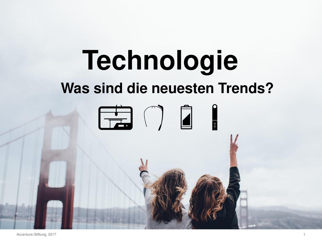 Technologie Was sind die neuesten Trends