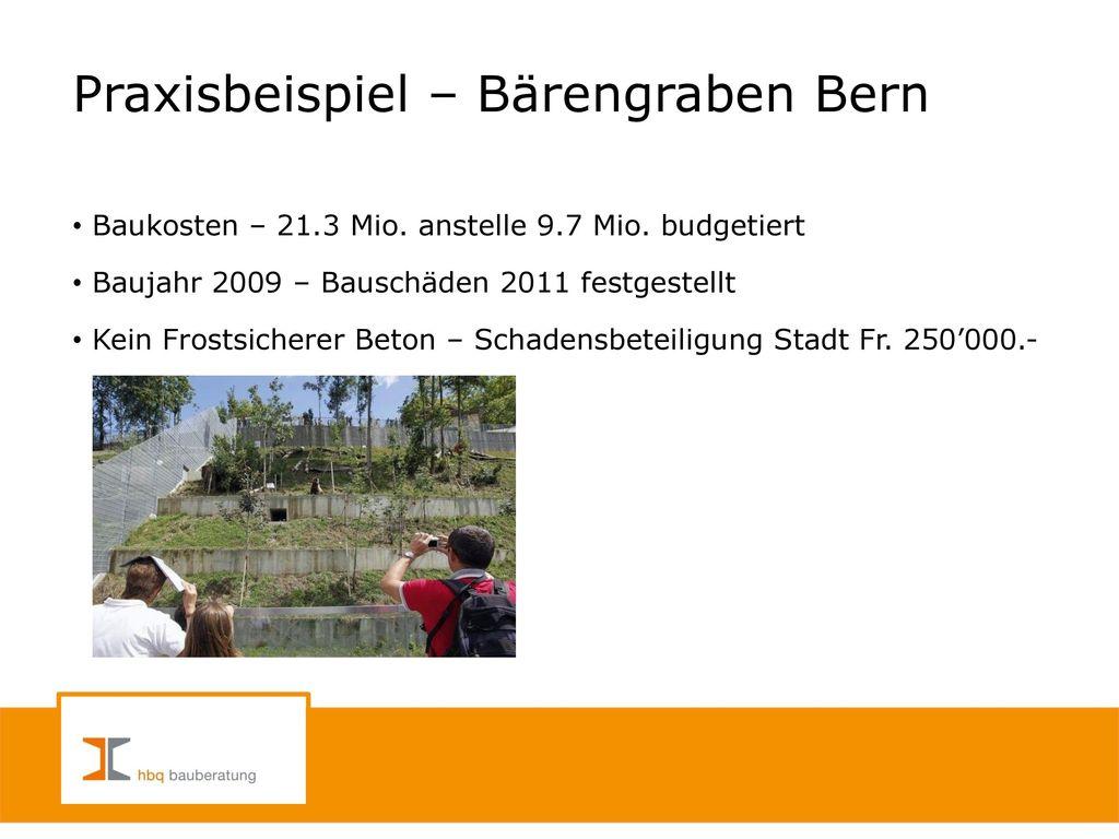 Praxisbeispiel – Bärengraben Bern