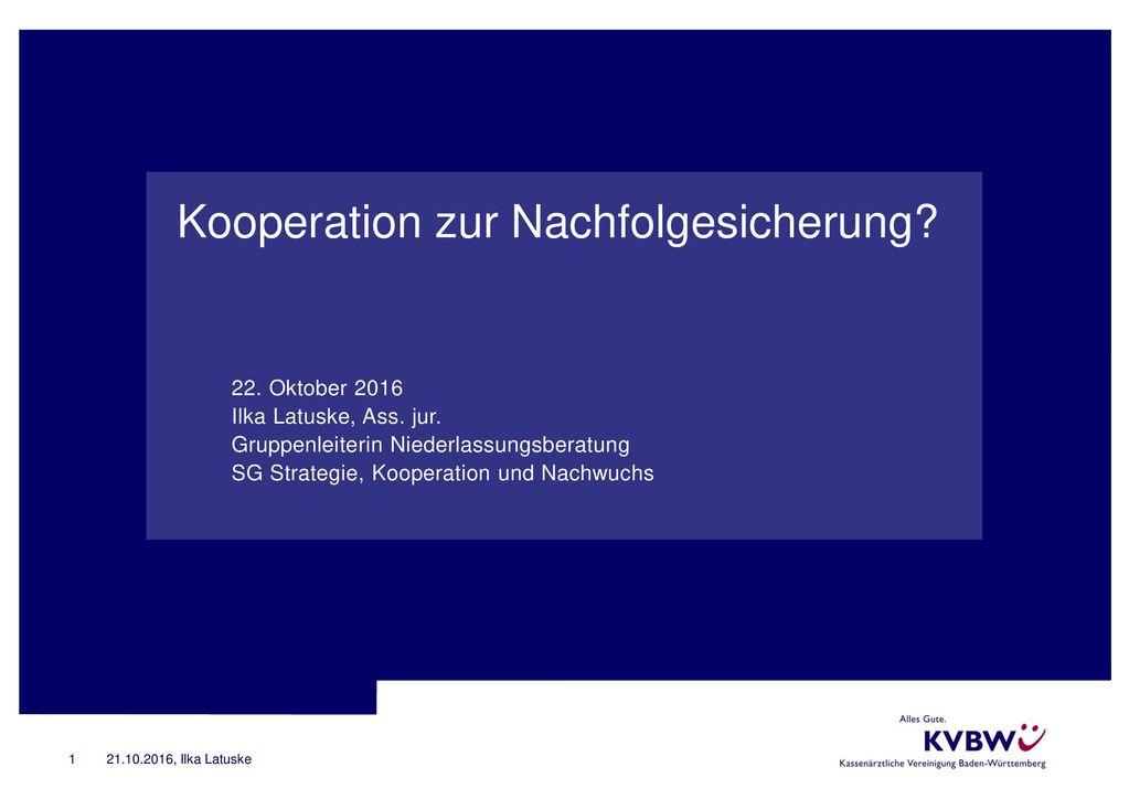 Kooperation zur Nachfolgesicherung