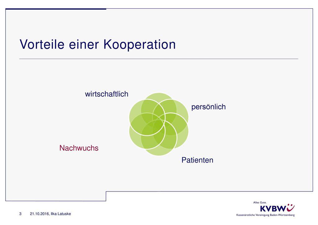 Vorteile einer Kooperation