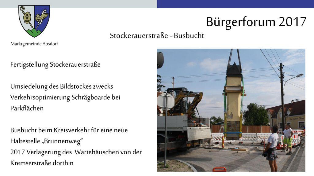Stockerauerstraße - Busbucht