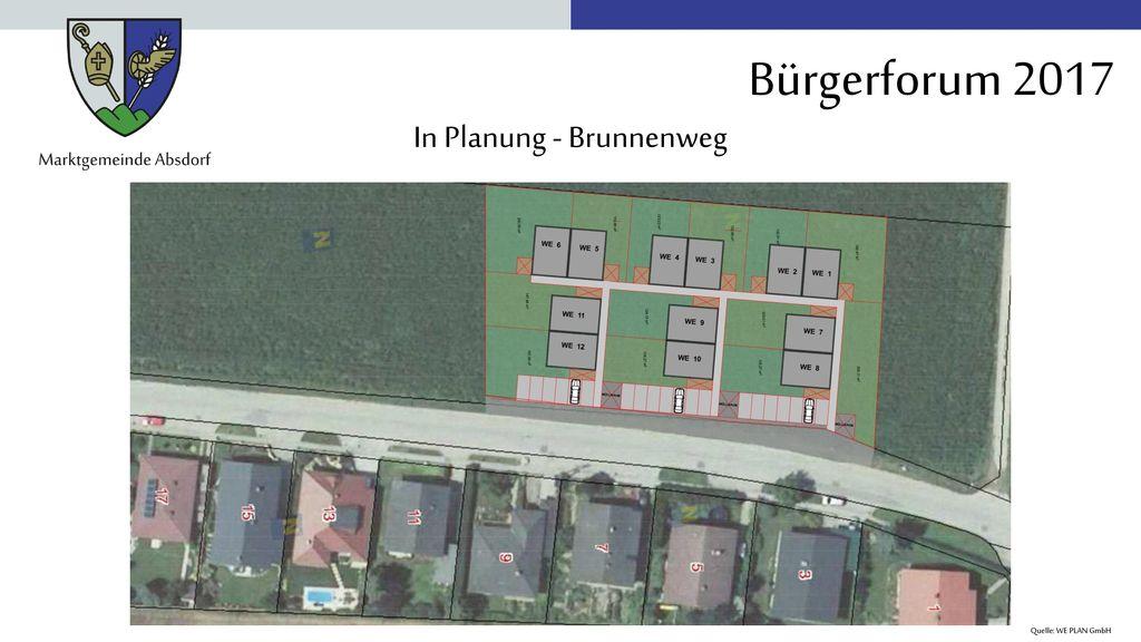 In Planung - Brunnenweg